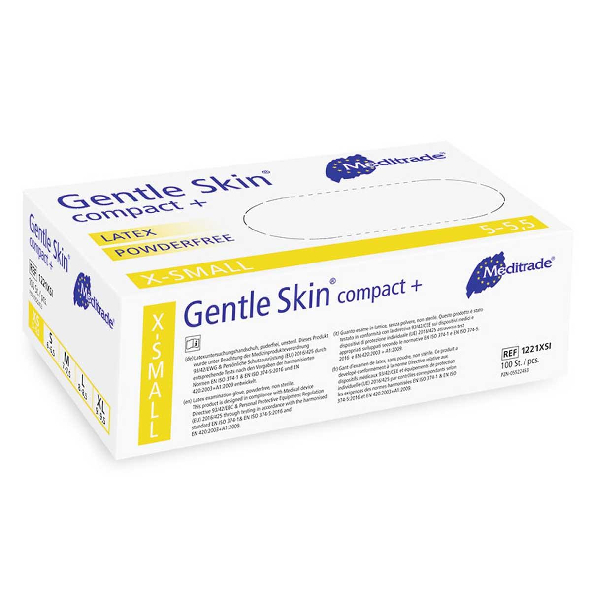 Meditrade GENTLE SKIN® COMPACT+ Latex XS
