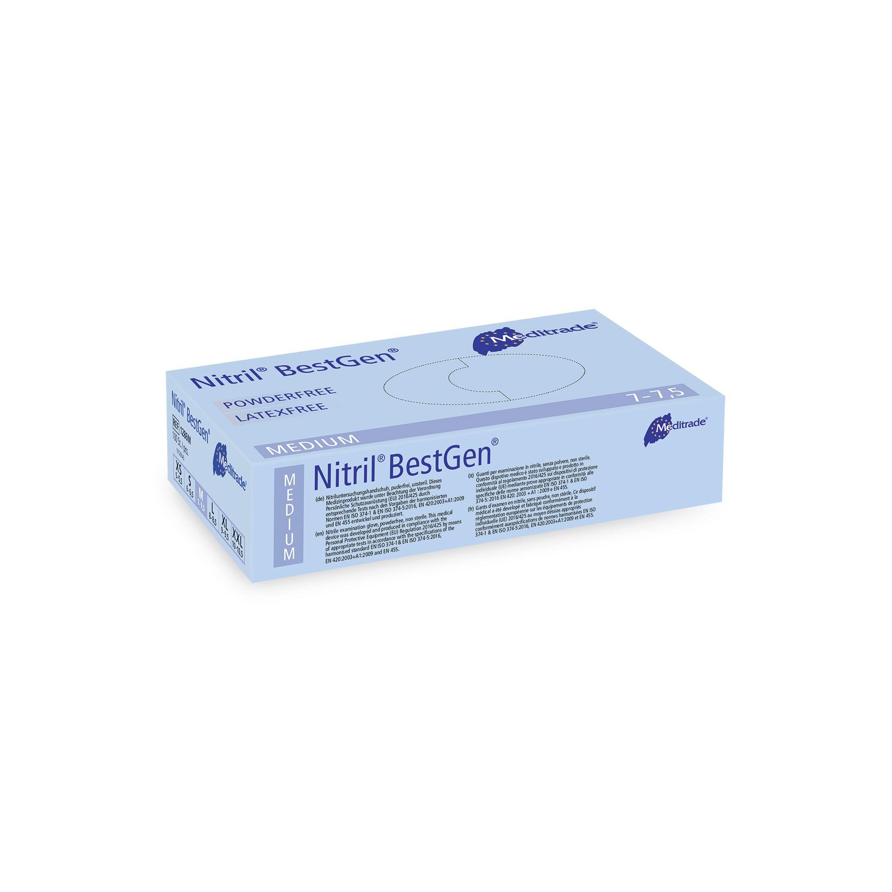 Meditrade Nitril® BestGen® Größe L