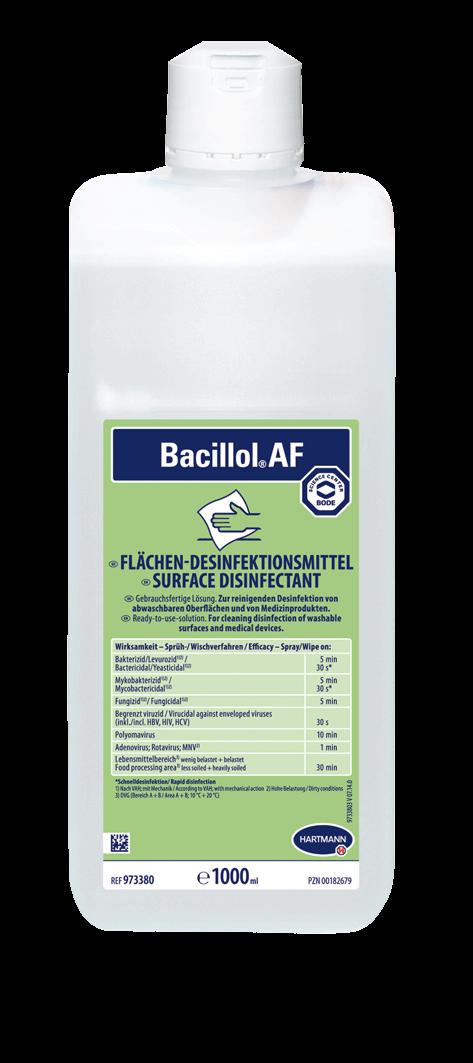 Bacillol® AF 1000ml Flasche